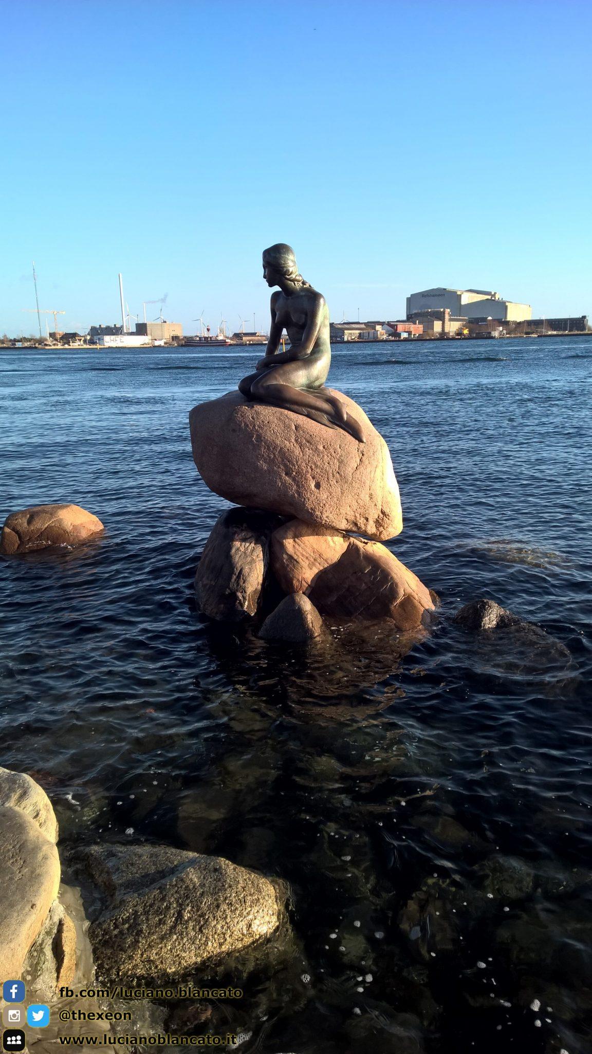 La sirenetta - Den Lille Havfrue - Copenaghen - Danimarca