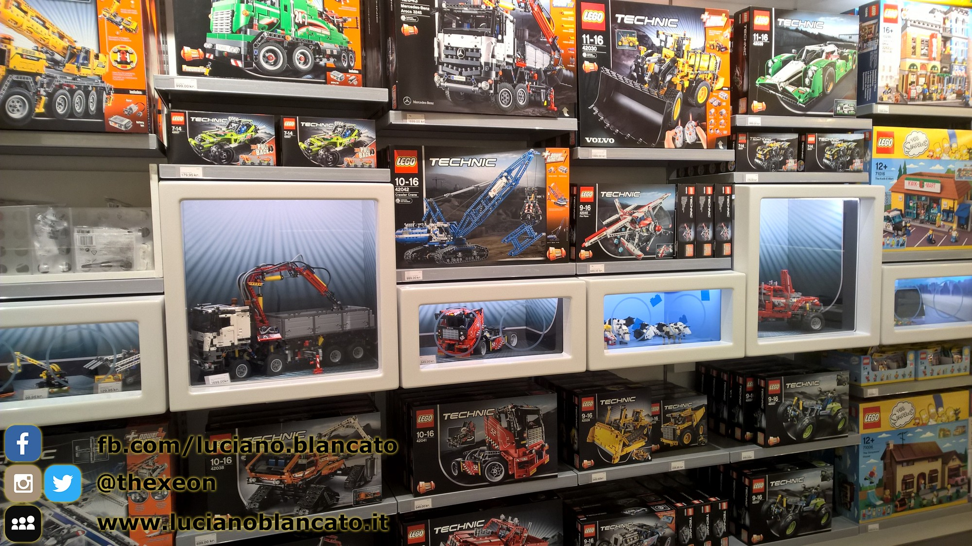 Lego store di Copenaghen - Danimarca