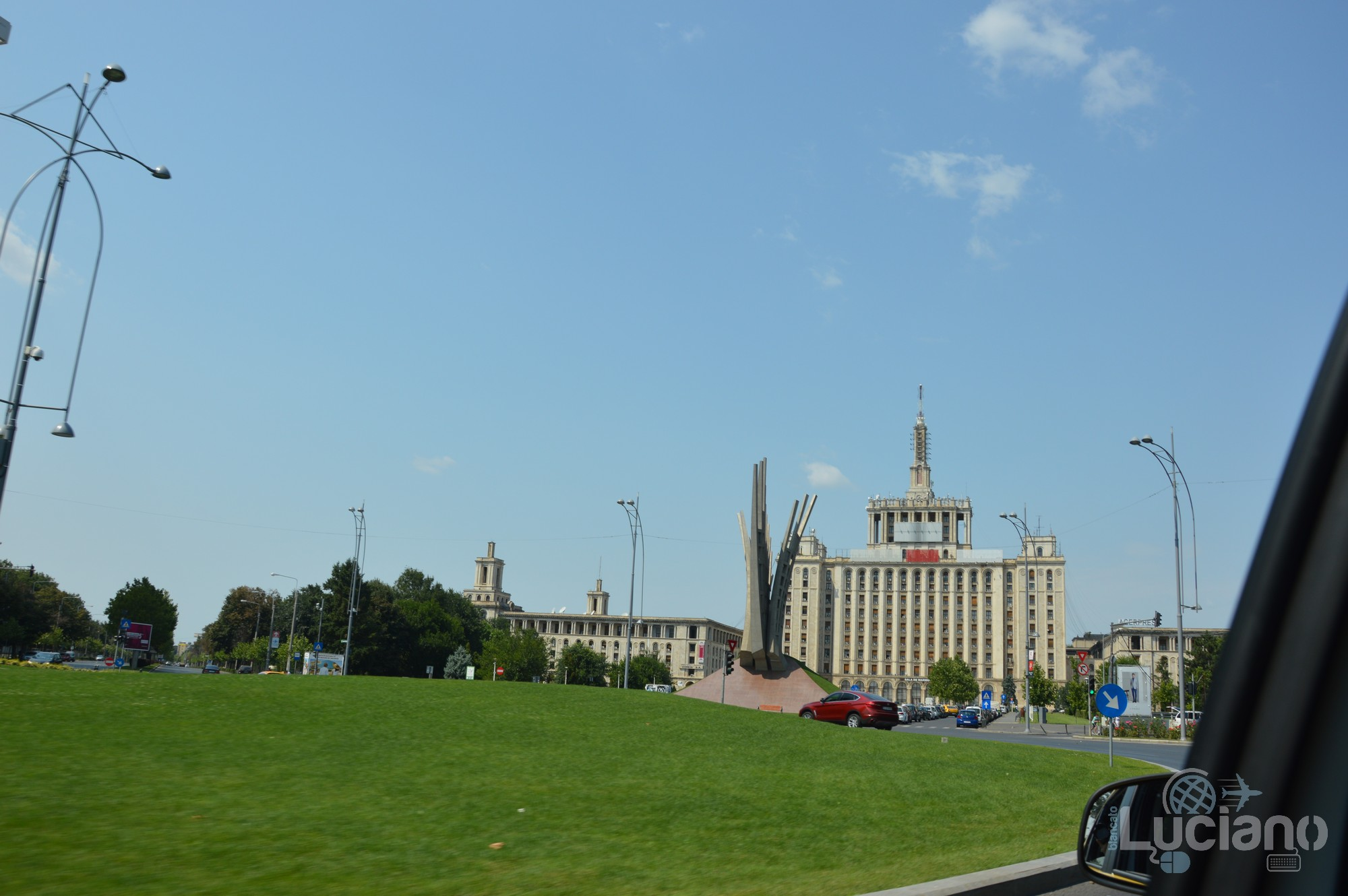 Monumentul Aripi - Bucarest