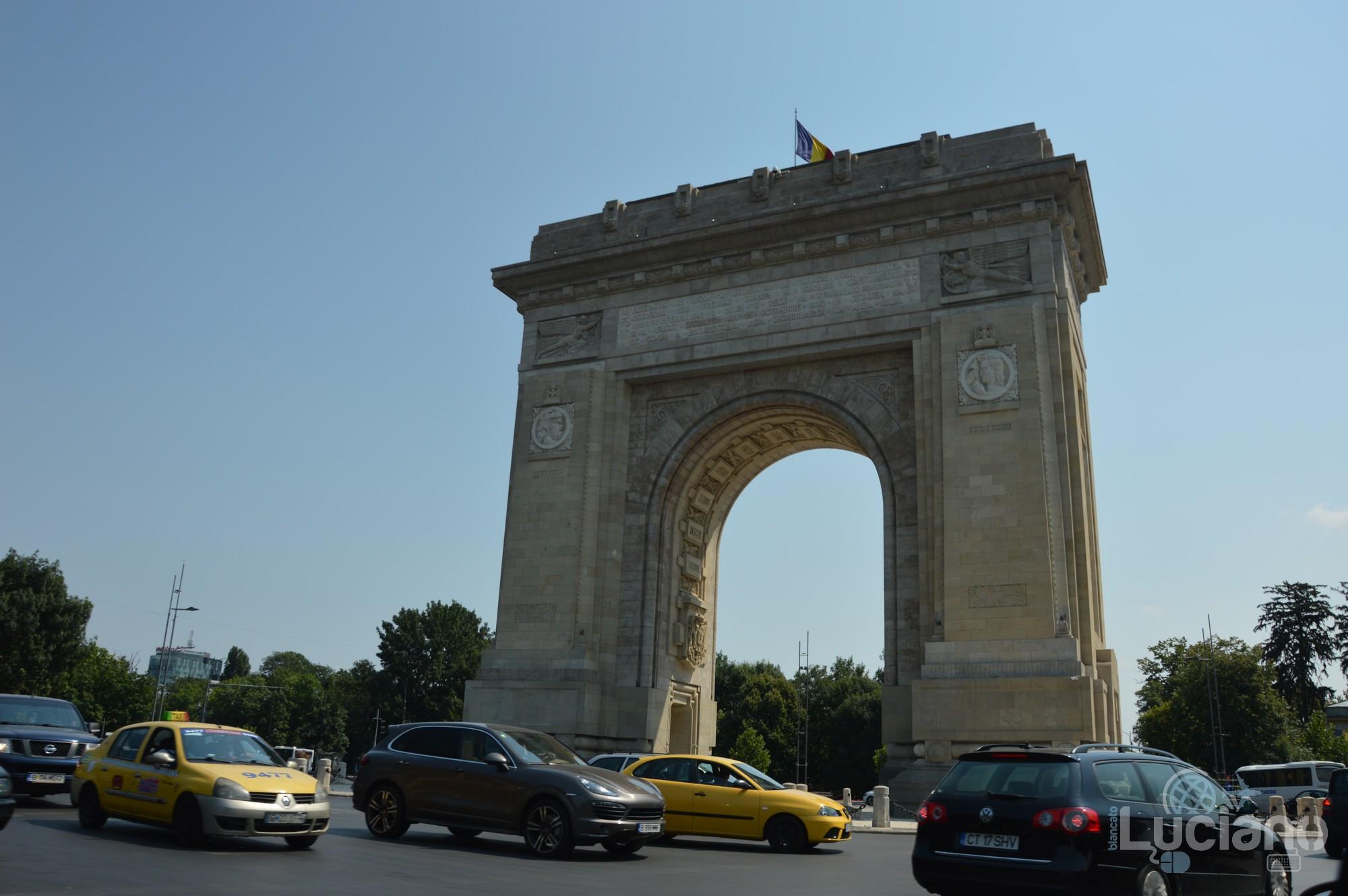 Arco di Trionfo - Arcul de Triumf - bucarest