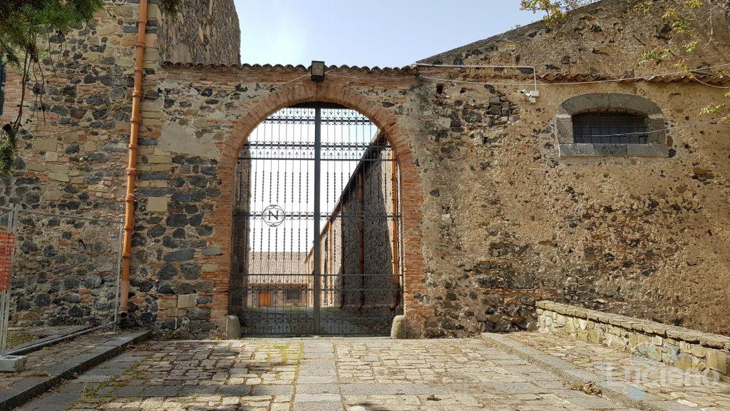 Castello di Nelson - Maniace - Ingresso