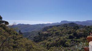 Panorama da Savoca - vista etna