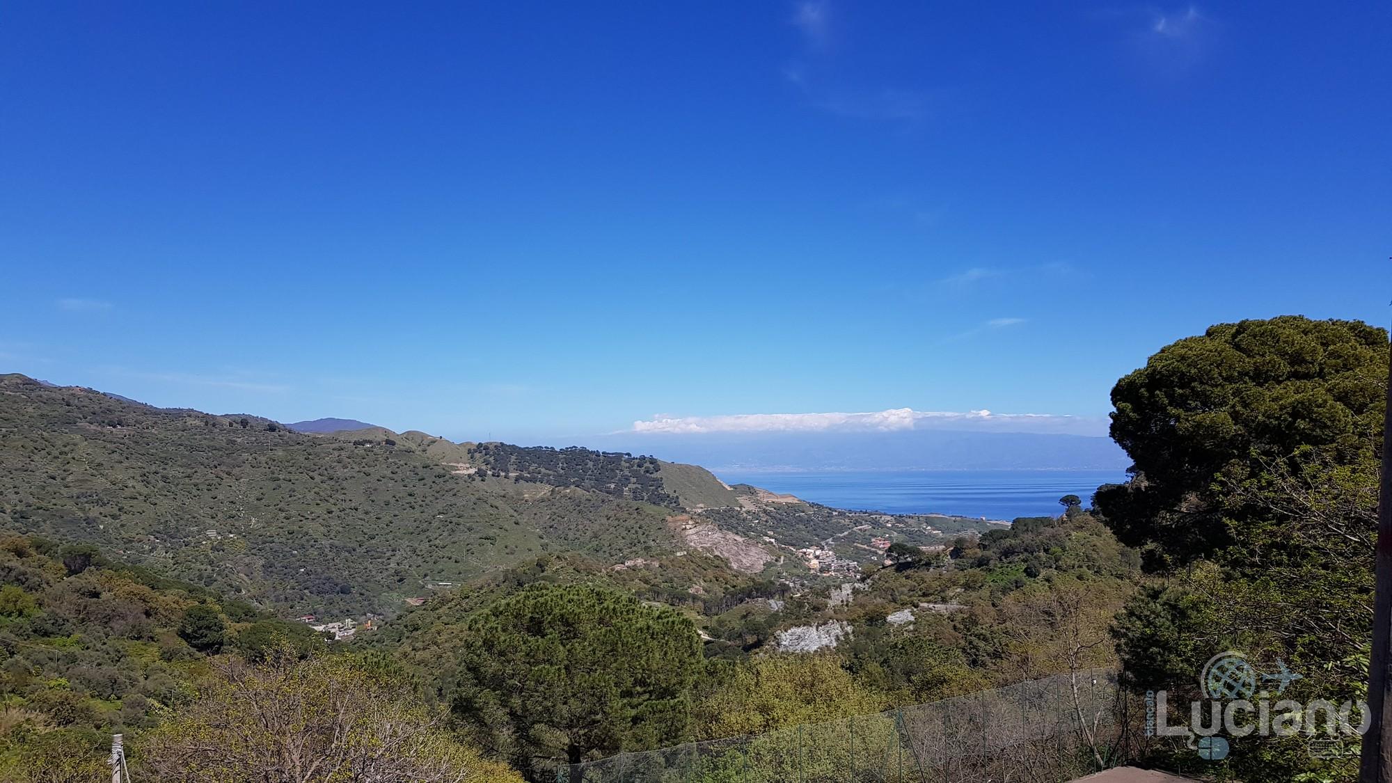 Panorama da Savoca - vista mare