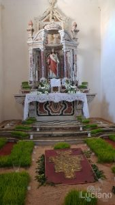 Altare sacro - chiesa - Savoca (ME)