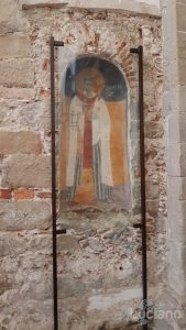Affresco  - chiesa madre - Savoca (ME)