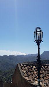 Vista dell'etna da Savoca (ME)