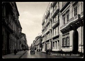 Catania antica: Viale XX Settembre