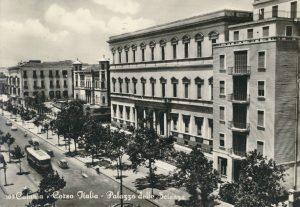 Catania antica: Corso Italia - Palazzo delle Scienze