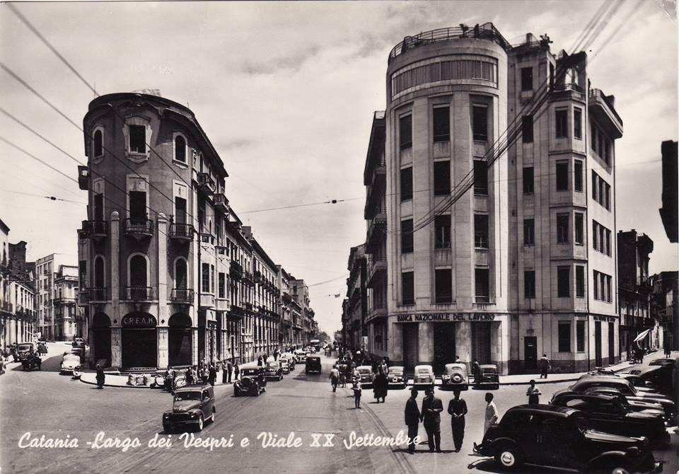 Catania antica: Largo dei Vespri e Viale XX settembre
