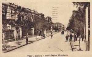 Catania antica: Viale Regina Margherita
