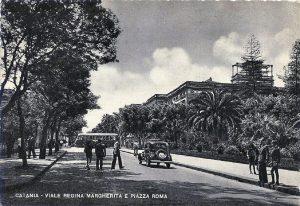 Catania antica: Viale Regina Margherita e Piazza Roma