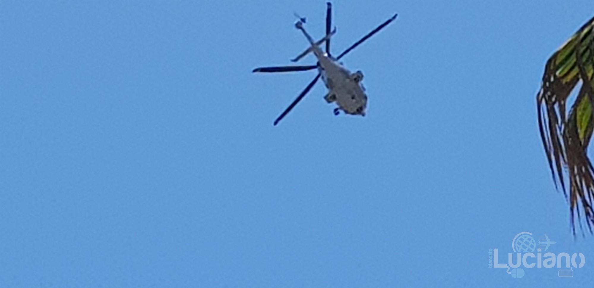 Elicottero che sorvola SR