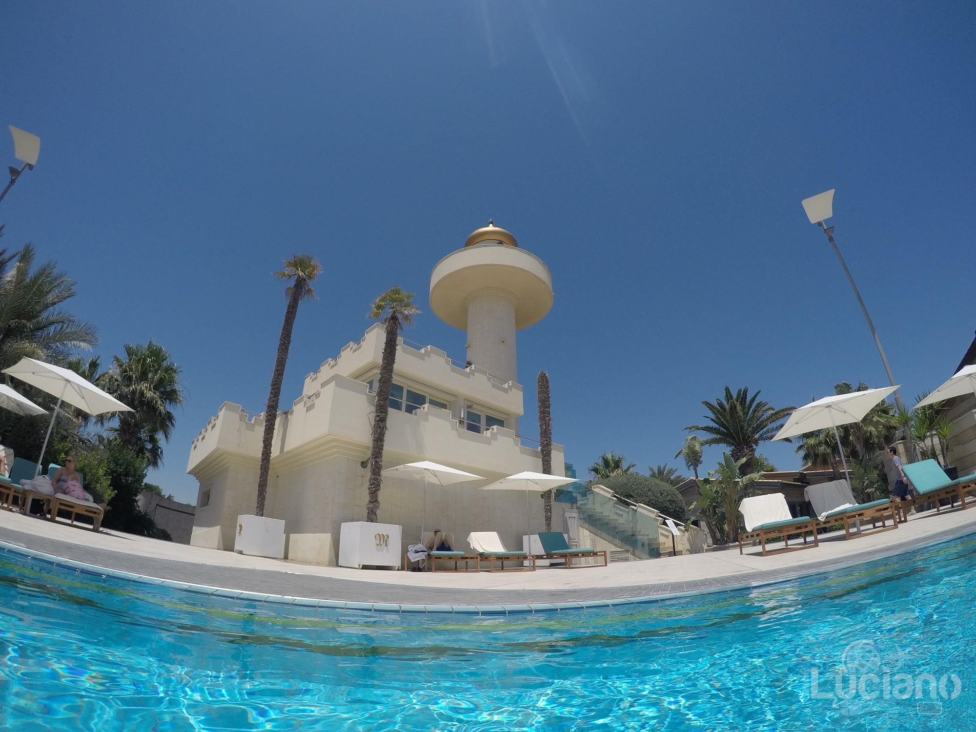 Grand Hotel - Minareto - in giro per il resort - Minareto dalla piscina