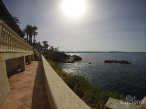 Grand Hotel - Minareto - in giro per il resort - vista sul porto vecchio di siracusa
