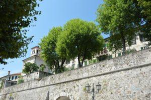 In giro per Feltre (vista delle mura) -  Veneto