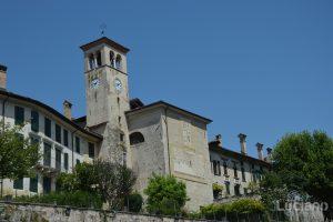 Facciata Chiesa Di San Giacomo Feltre (vista Via Campo Giorgio) -  Veneto