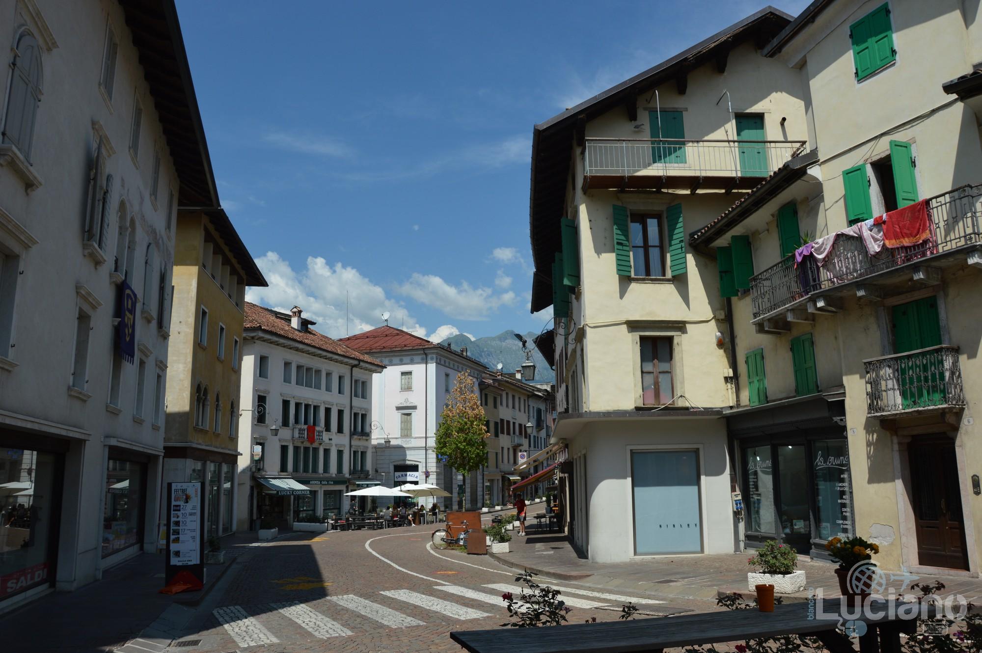 In giro per Feltre - Corso Principale -Veneto