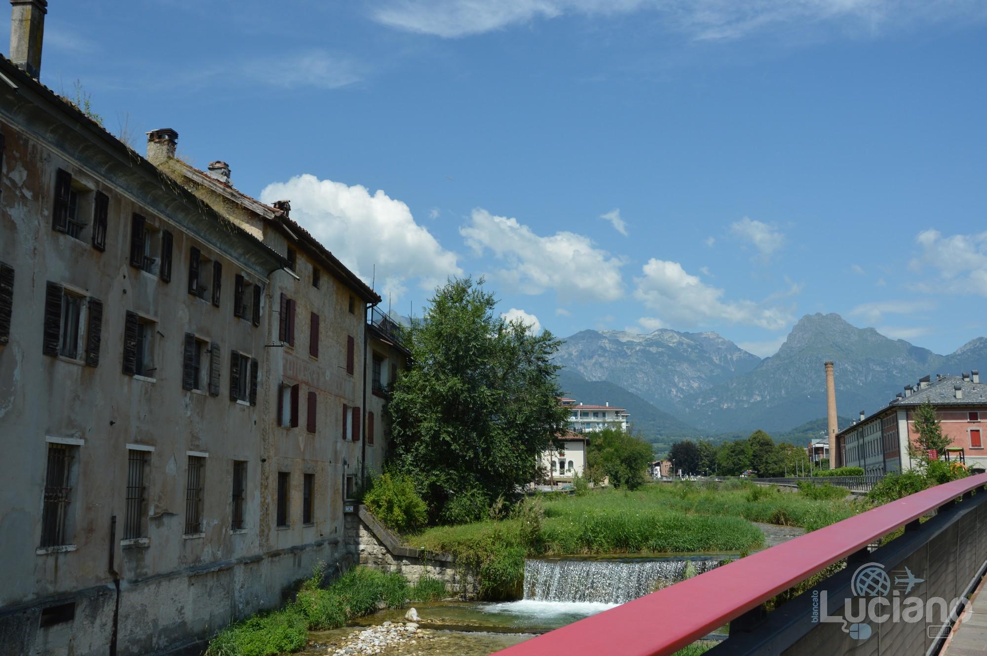 In giro per Feltre - Vista sulle dolomiti - Veneto