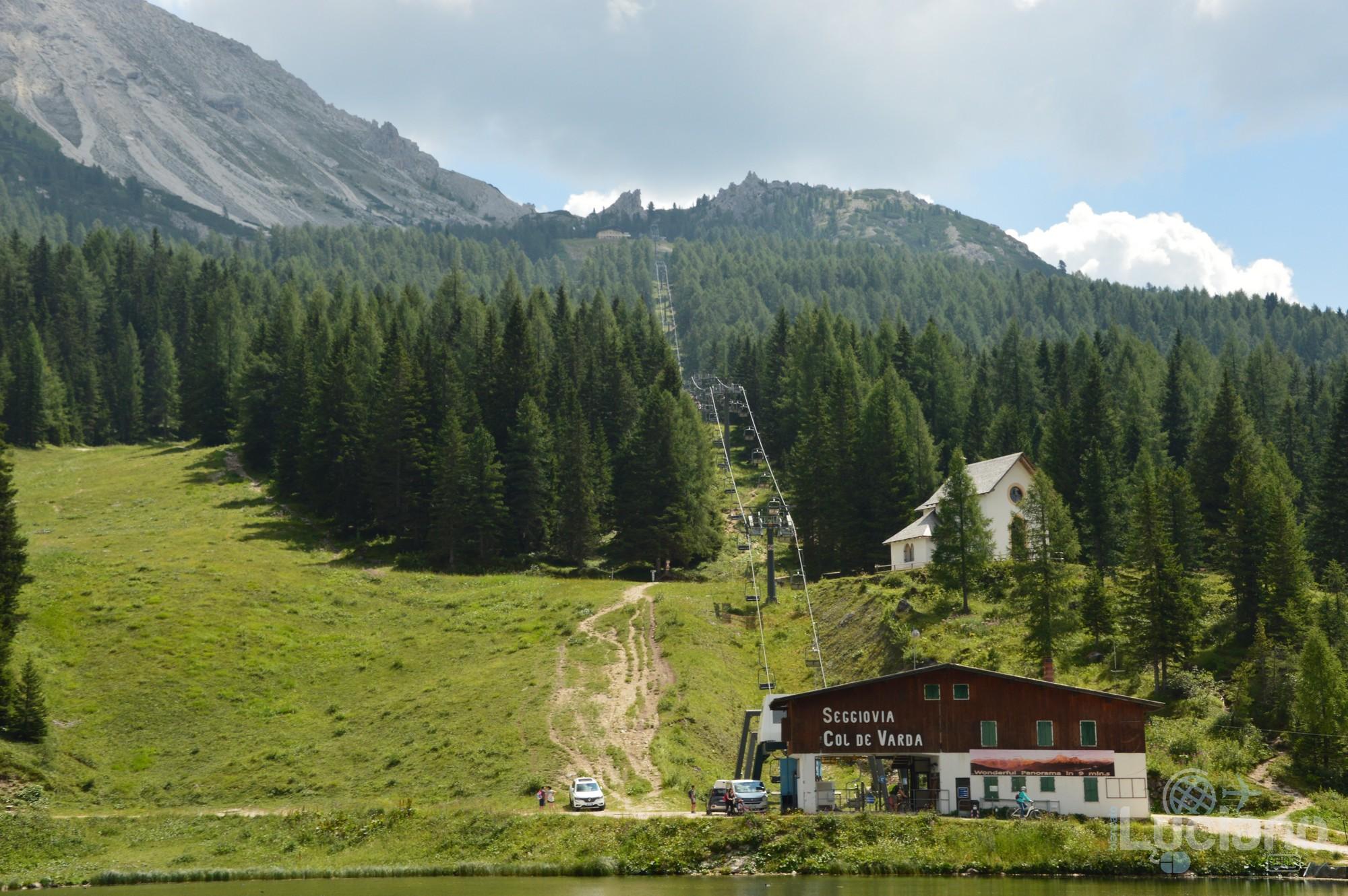 Seggiovia Col de Varda - Lago di Misurina - Veneto