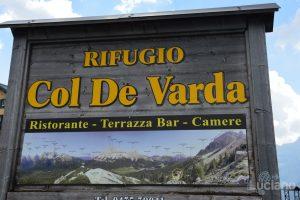 Vista sul Lago di Misurina e sulle dolomiti - Rifugio Col de Varda - Veneto