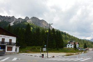 Vista sul Lago di Misurina e sulle dolomiti - Veneto