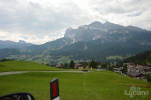 In giro per le Dolomiti, in prossimità del Lago di Misurina - Veneto