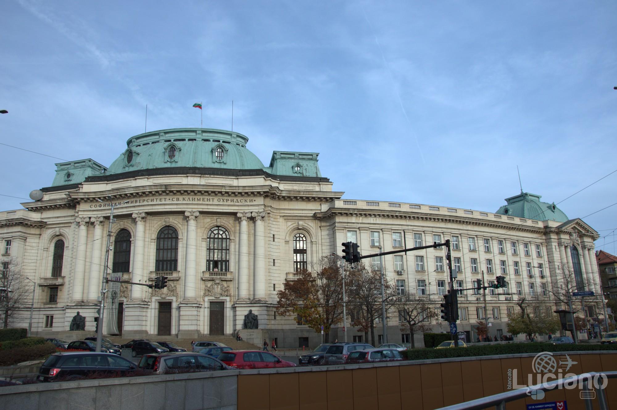 """Università di Sofia - Софийски университет """"Св. Климент Охридски"""" - Ректорат - Sofia - Bulgaria"""