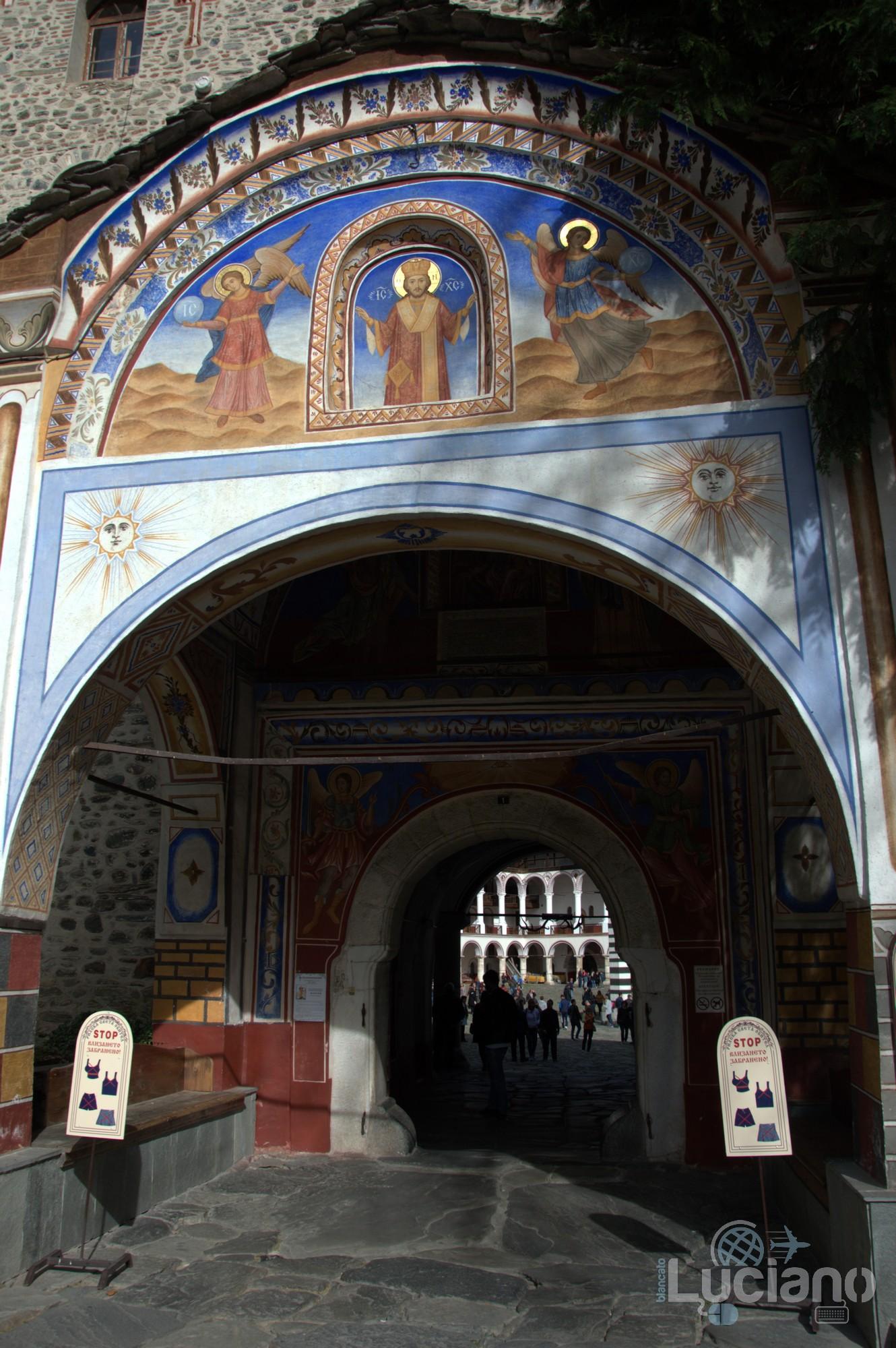 ingresso Monastero di Rila, Рилски Манастир, Rilski Manastir - Sofia - Bulgaria