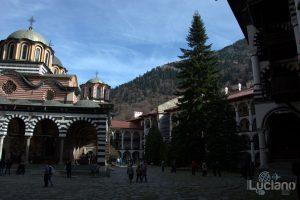 Cortile interno del Monastero di Rila, Рилски Манастир, Rilski Manastir - Sofia - Bulgaria