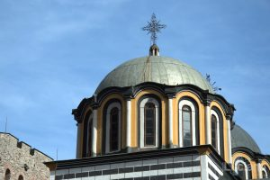 Cupola chiesa interna al Monastero di Rila, Рилски Манастир, Rilski Manastir - Sofia - Bulgaria