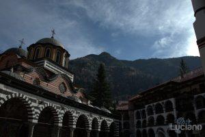 Cortile interno al Monastero di Rila, Рилски Манастир, Rilski Manastir - Sofia - Bulgaria