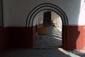 Corridoi interni, nel Cortile del Monastero di Rila, Рилски Манастир, Rilski Manastir - Sofia - Bulgaria