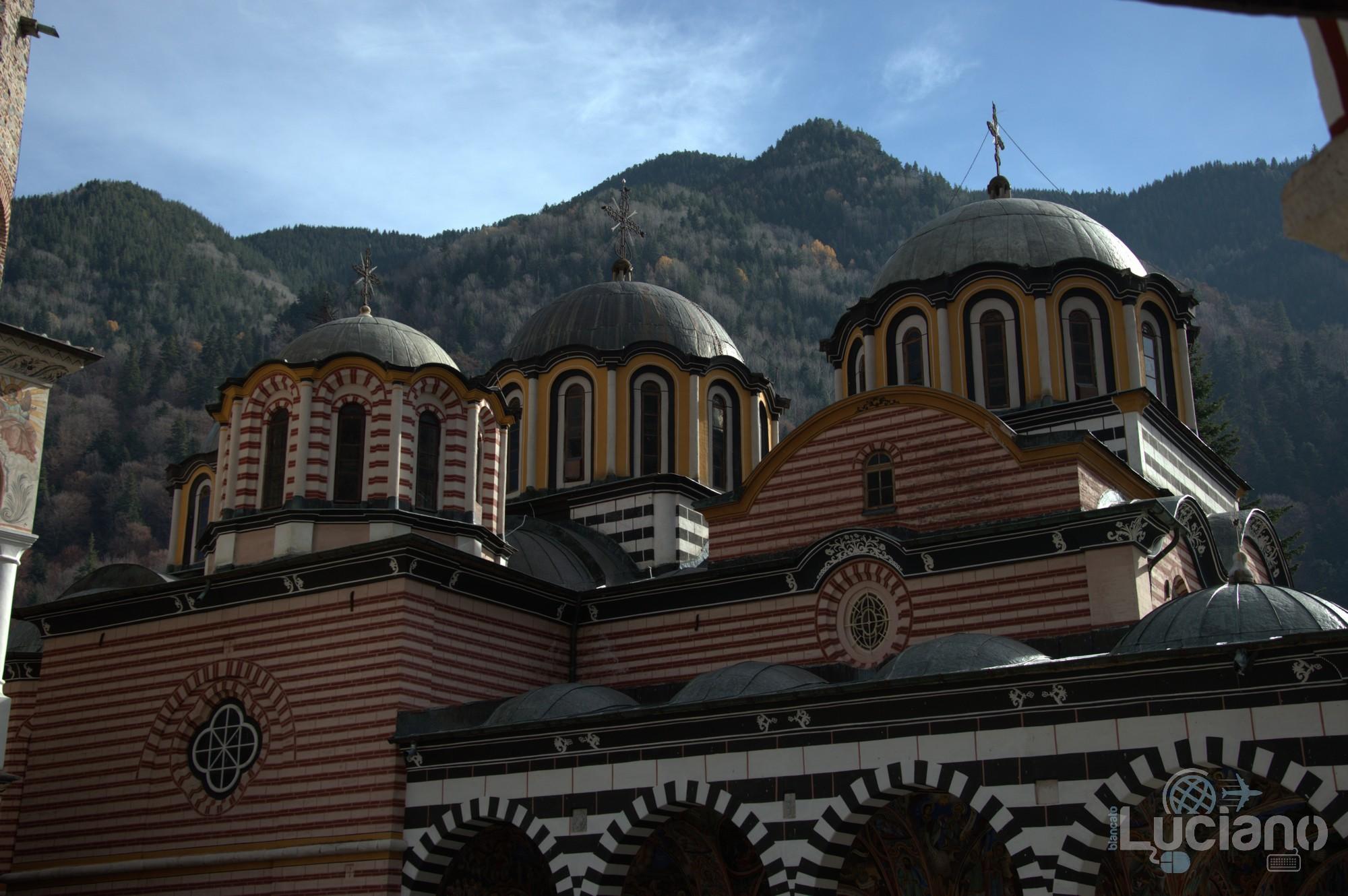 Cupole del Monastero di Rila, Рилски Манастир, Rilski Manastir - Sofia - Bulgaria