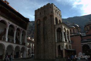 Torre con campanile nel Monastero di Rila, Рилски Манастир, Rilski Manastir - Sofia - Bulgaria