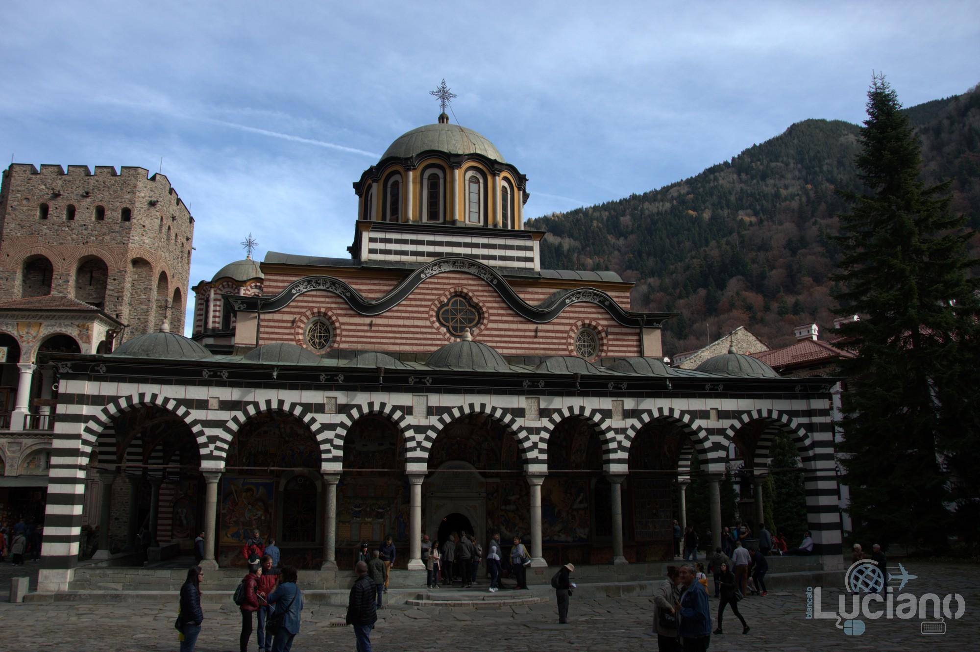 Vista interna - Monte Rila - Monastero di Rila, Рилски Манастир, Rilski Manastir - Sofia - Bulgaria
