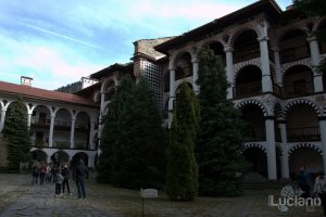Vista interna - Dettagli - Monastero di Rila, Рилски Манастир, Rilski Manastir - Sofia - Bulgaria