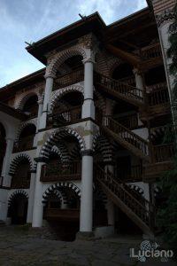 Vista interna - Monastero di Rila, Рилски Манастир, Rilski Manastir - Sofia - Bulgaria