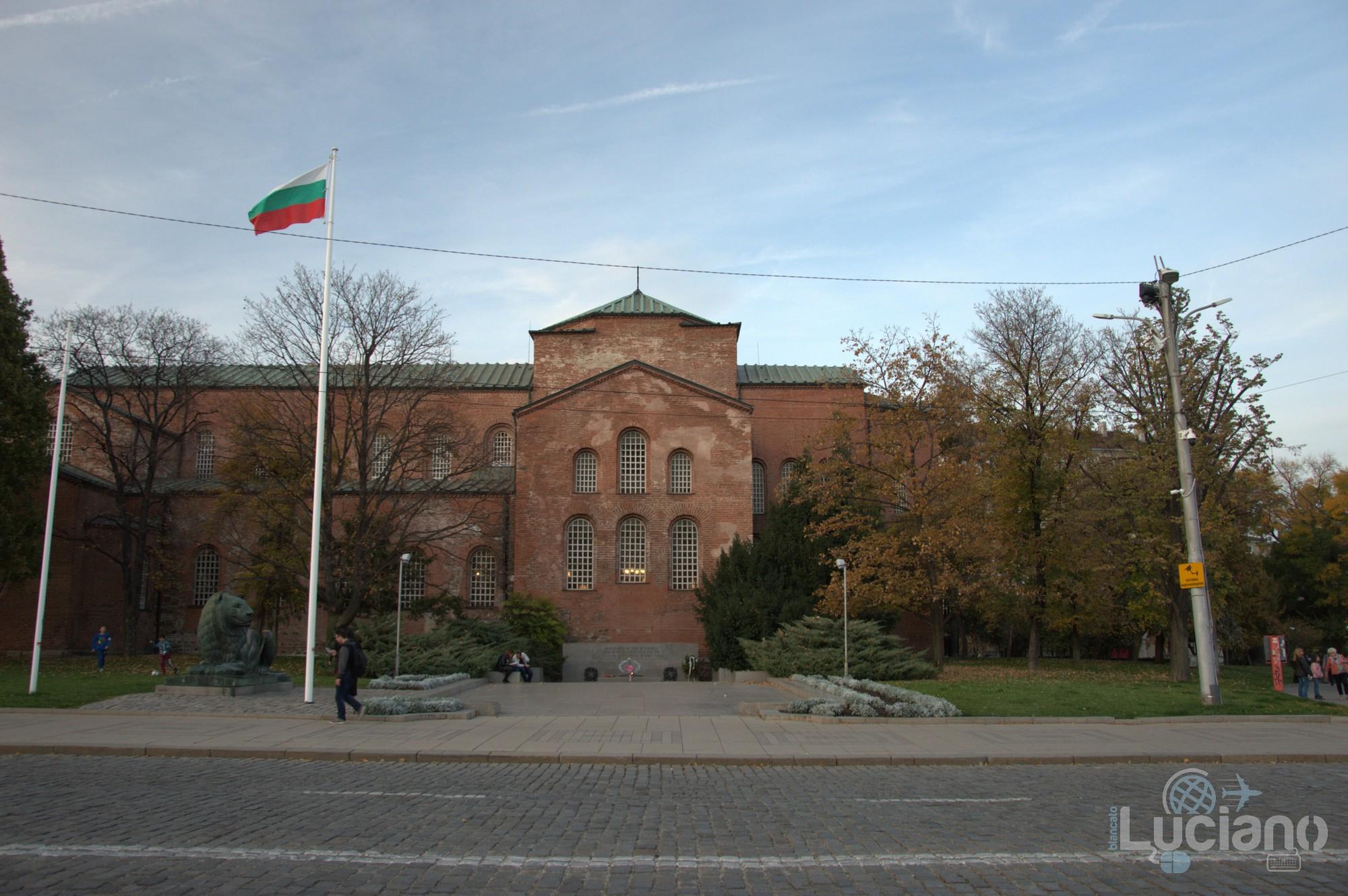 Sofia - Bulgaria - chiesa di Santa Sofia (in bulgaro: Църква Света София)