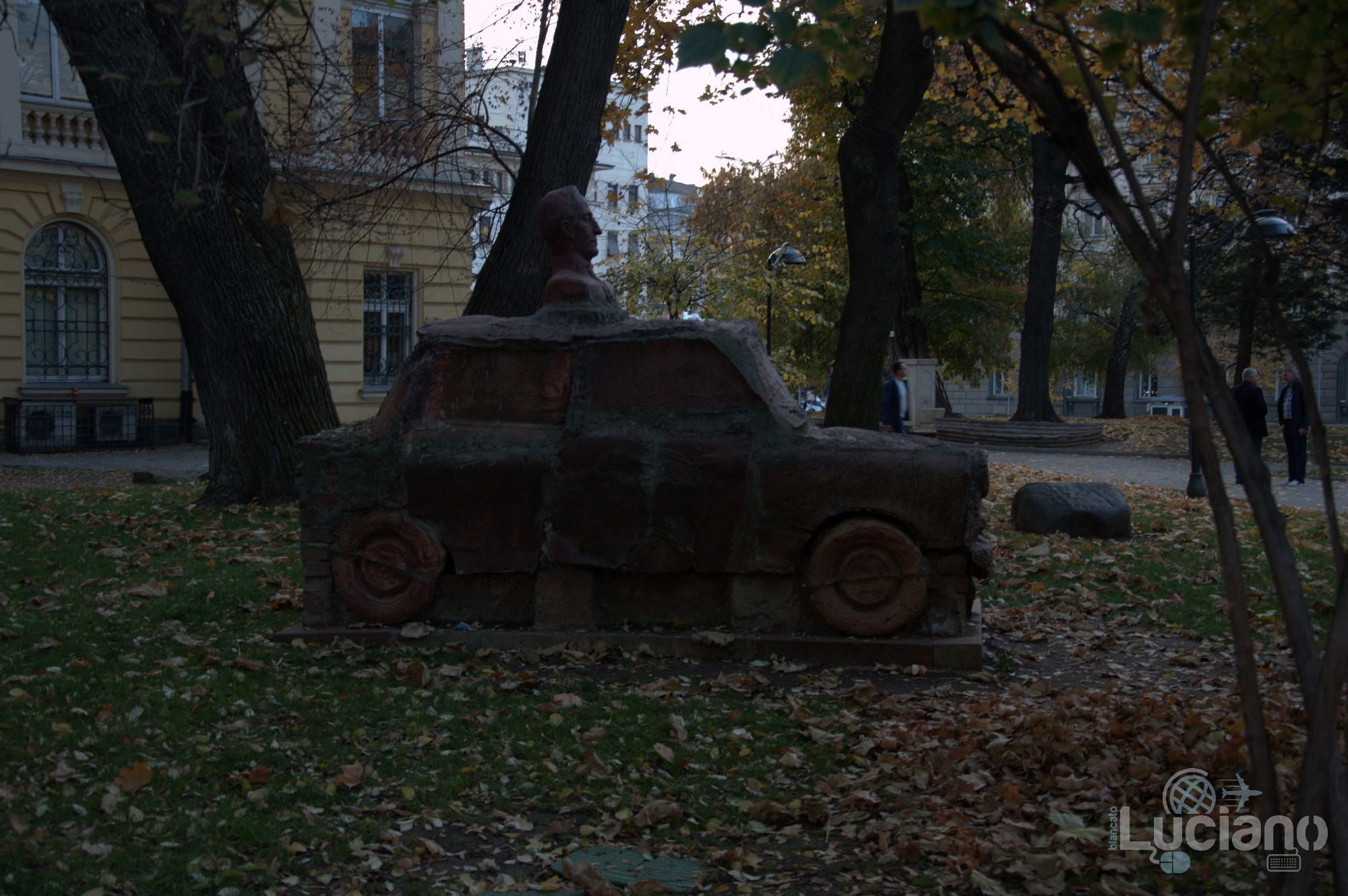 Monumento Alla Trabant Паметник на Трабант - Sofia - Bulgaria