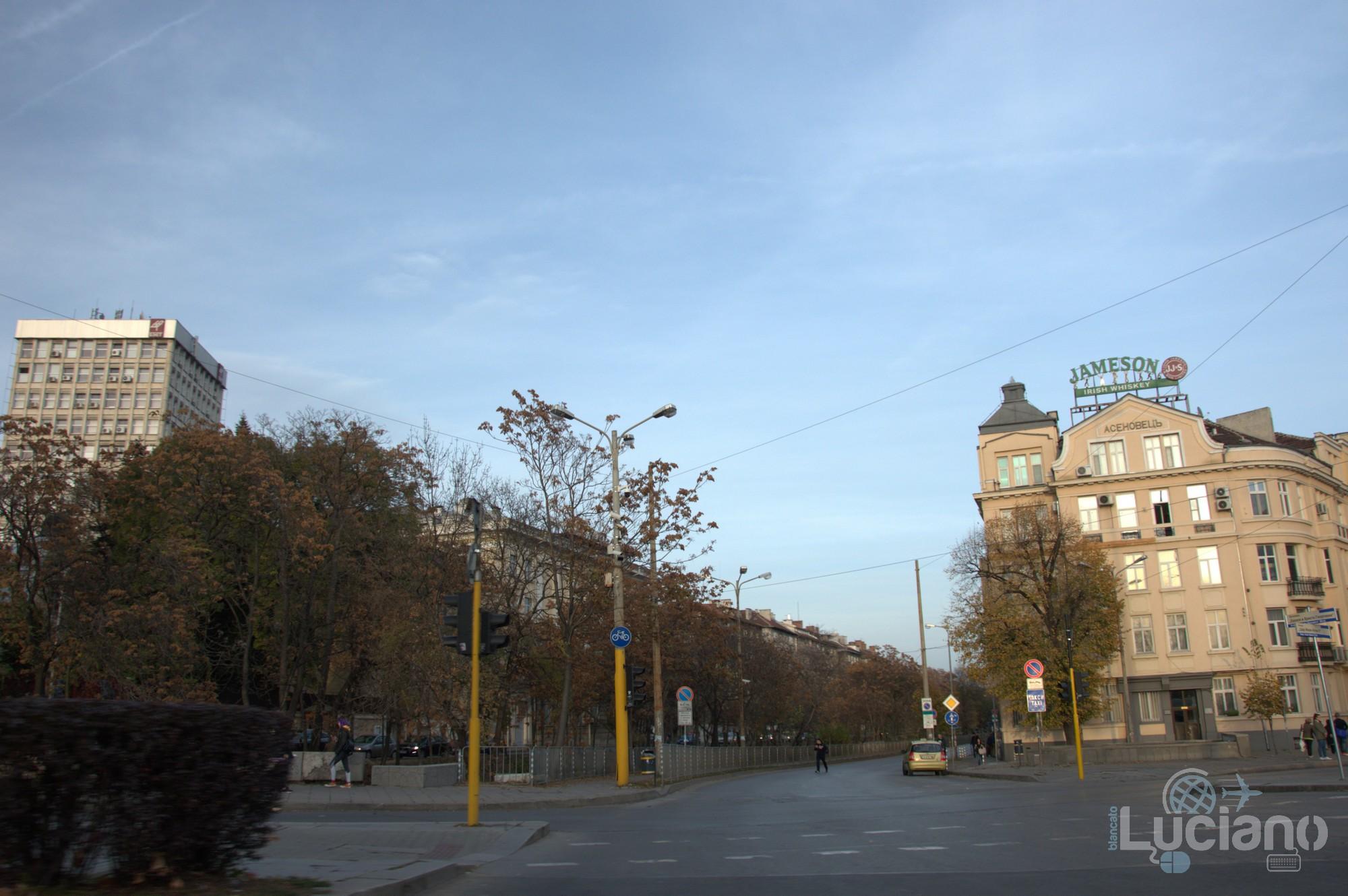 in giro per  Sofia - Bulgaria