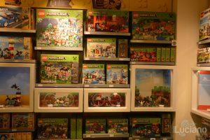 Lego Store, zona MINECRAFT - Milano - Lombardia - Italia