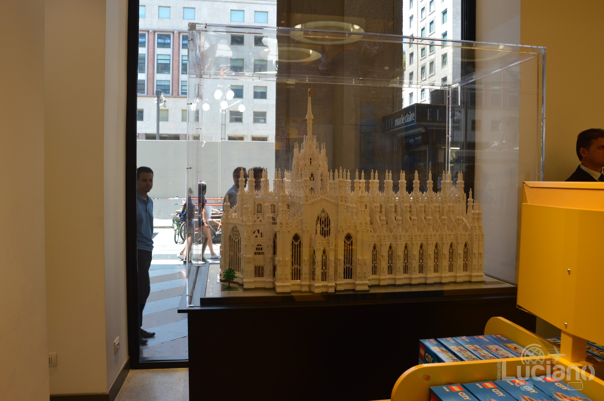 Lego Store - modellino Duomo di Milano - Milano - Lombardia - Italia