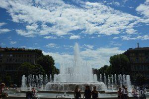 Fontana di Piazza Castello - Milano - Lombardia - Italia