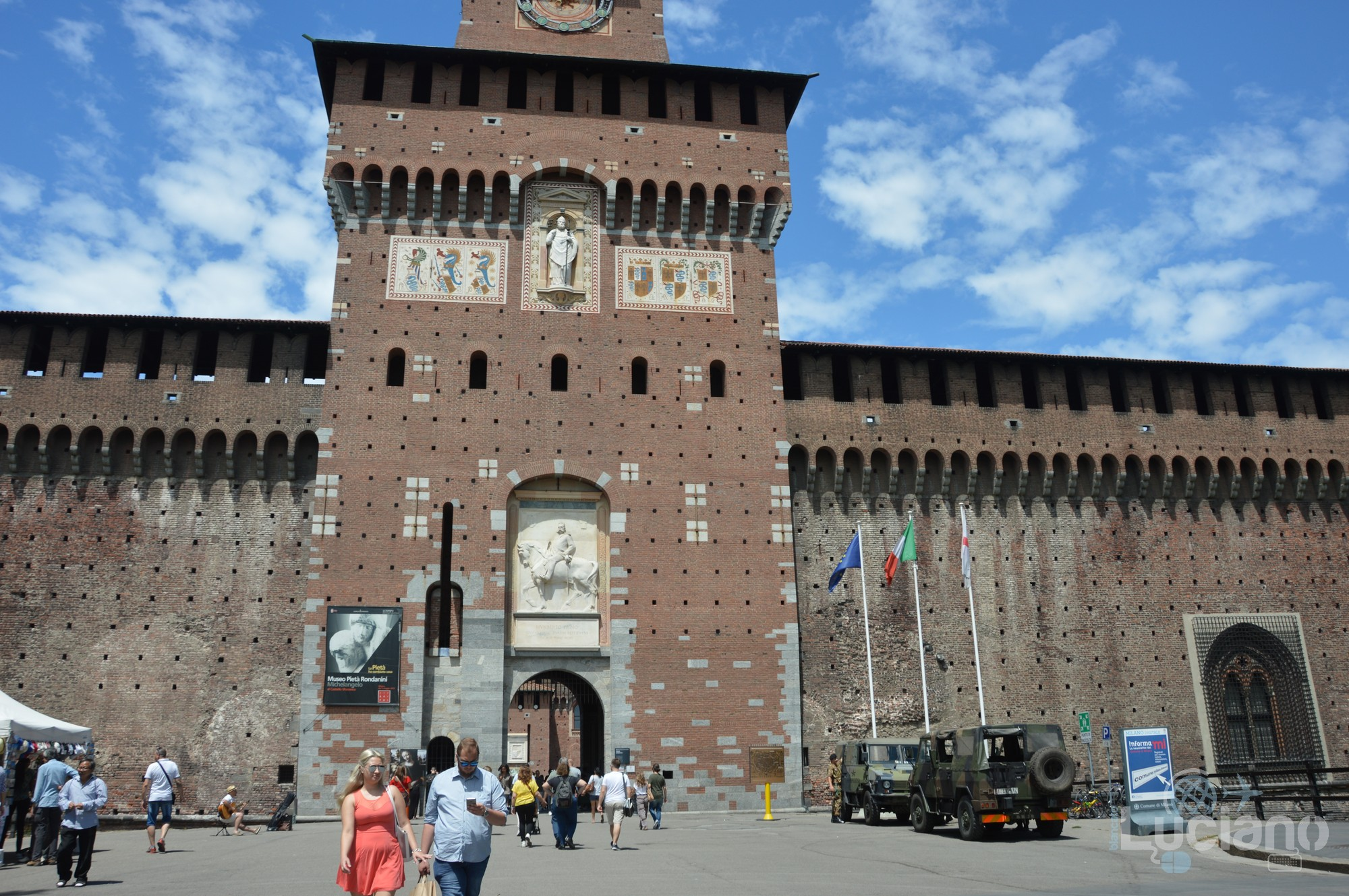 Castello Sforzesco - Milano - Lombardia - Italia