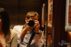Io in ascensore - Milano - Lombardia - Italia