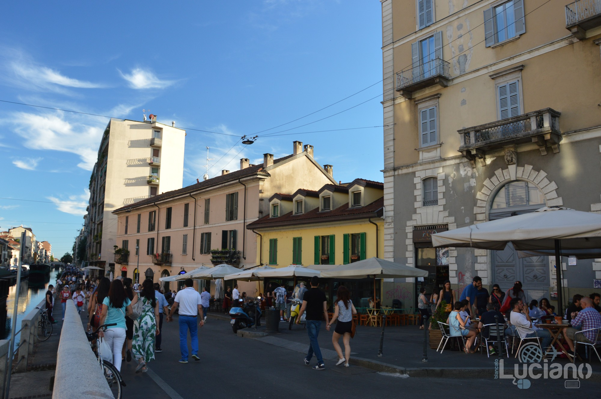 Naviglio Grande - Milano - Lombardia - Italia