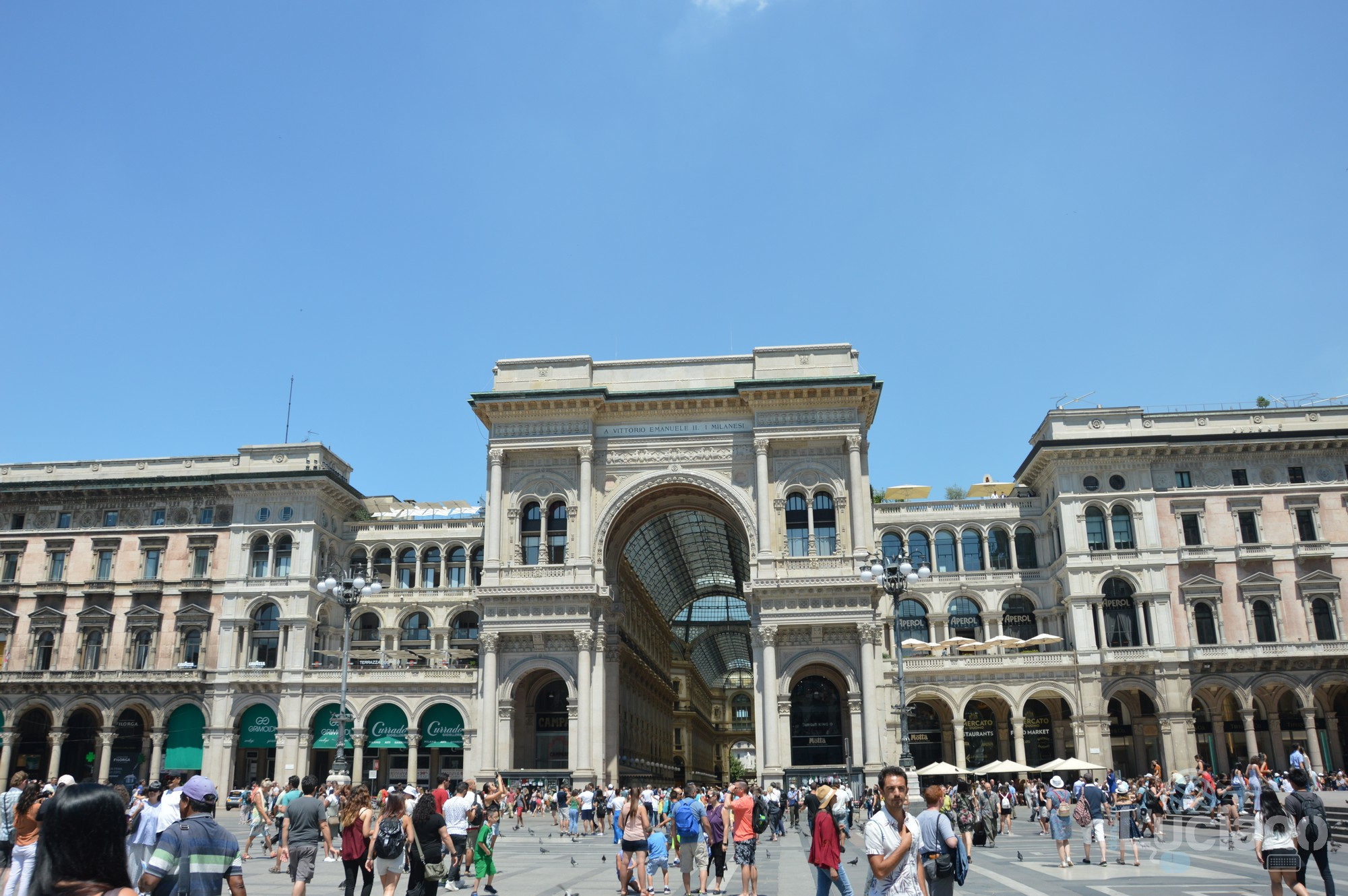 Galleria Vittorio Emanuele II - Milano - Lombardia - Italia