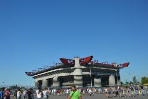 stadio Giuseppe Meazza, noto anche come stadio San Siro - Milano - Lombardia - Italia