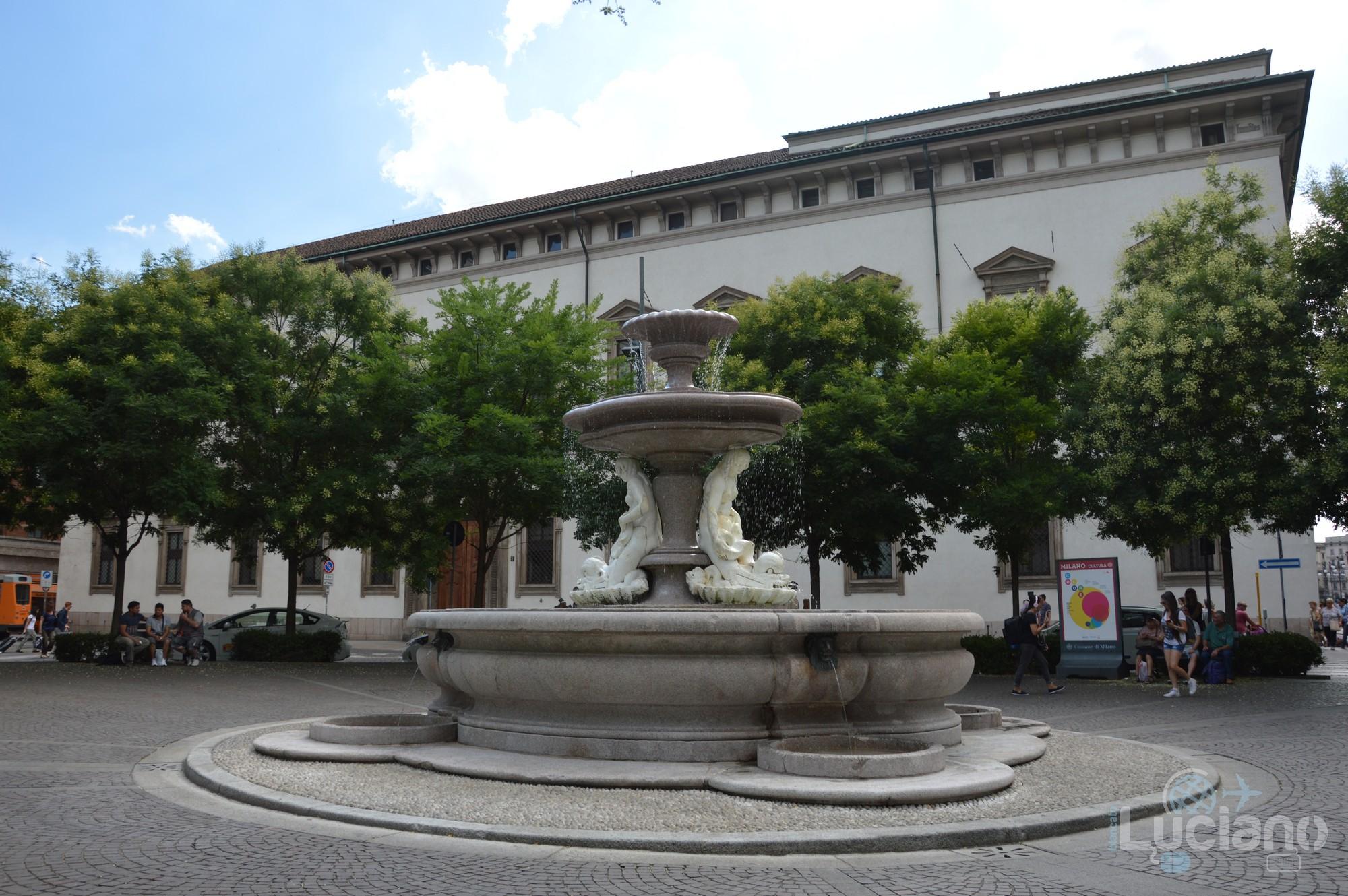 Fontana del Piermarini - Milano - Lombardia - Italia