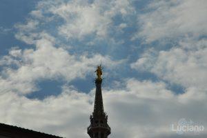 Madonnina del Duomo di Milano - dettaglio - Lombardia - Italia